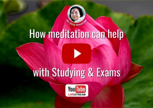 "Webcast ""How meditation can help with Studying & Exams"""