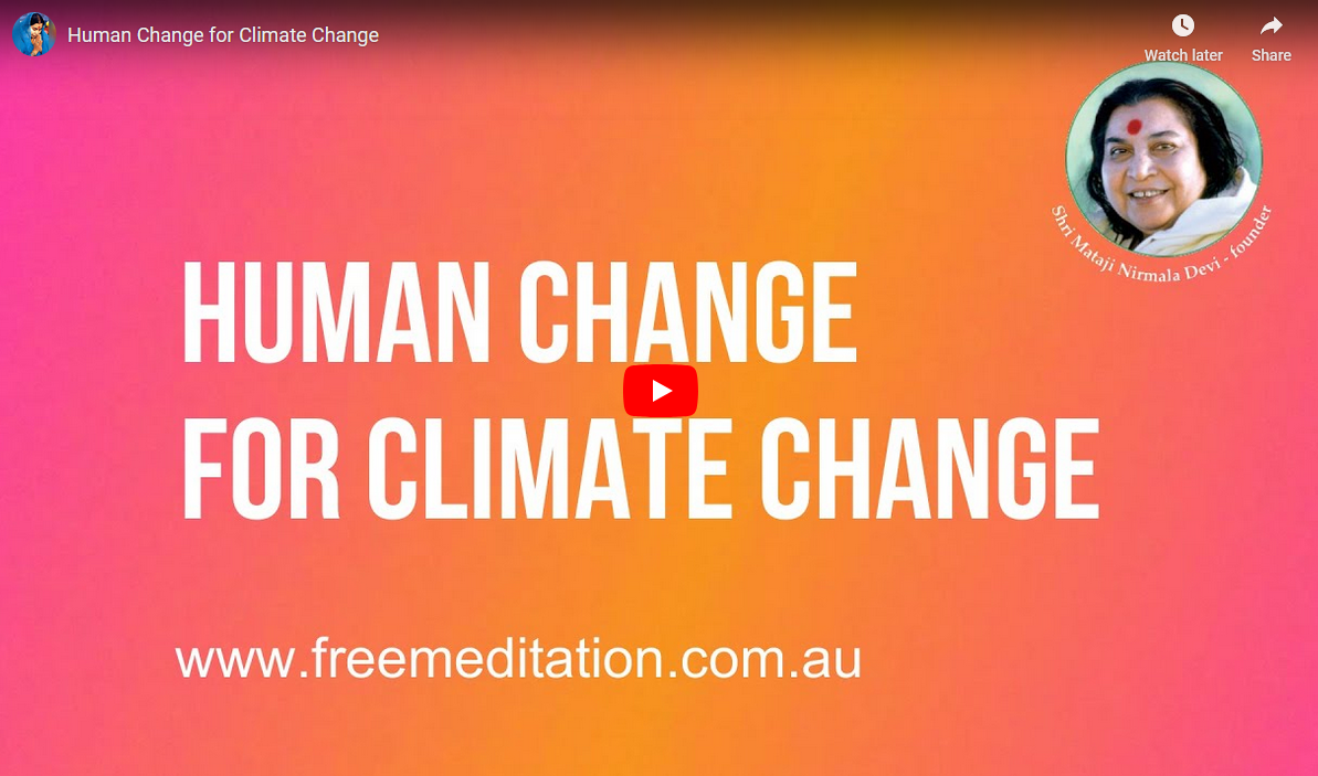 This week's webcasts & Human Change for Climate Change – 15th November 2020