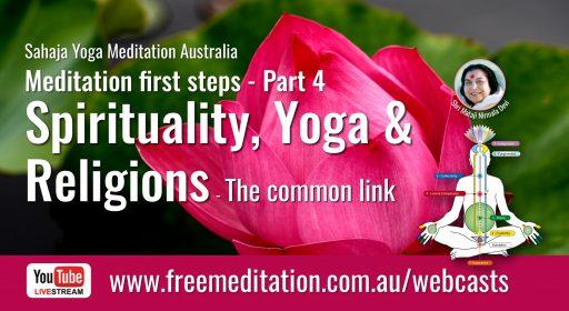 Spirituality, Yoga & Religions – Live on YouTube 25th June 2020