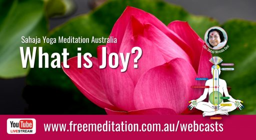 What is Joy? – Live on YouTube 5th June 2020